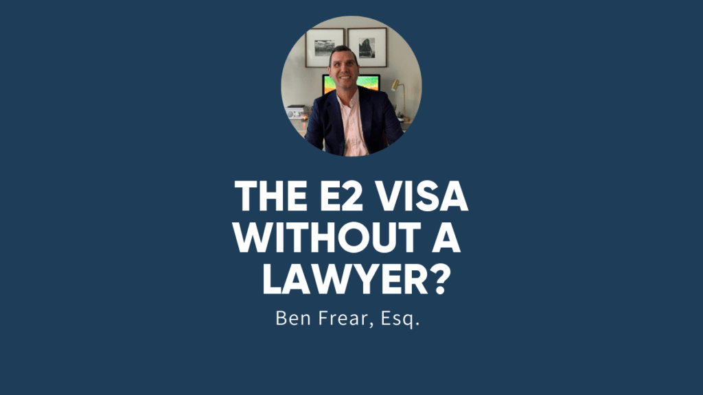 THE E2 VISA WITHOUT A LAWYER-main image