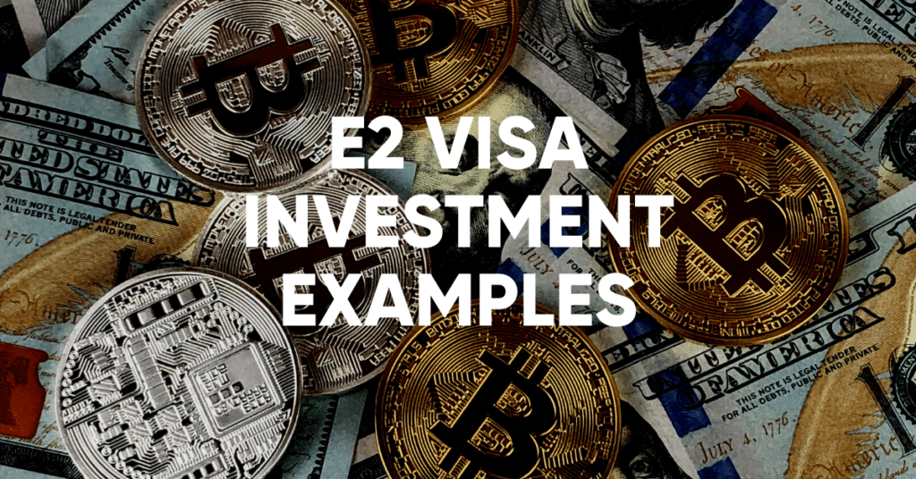 e2 visa investment examples