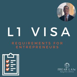 l1 visa requirements for entrepreneurs